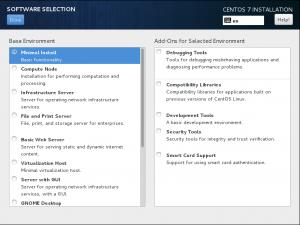 CentOS7 安装和部分设置参考 - 第4张  | 运维日志